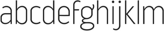 Good News Sans Thin otf (100) Font LOWERCASE