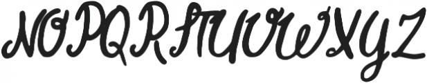 Good Times otf (400) Font UPPERCASE