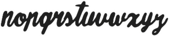 Good Times otf (400) Font LOWERCASE