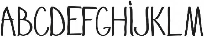 GoodJacket Regular otf (400) Font UPPERCASE