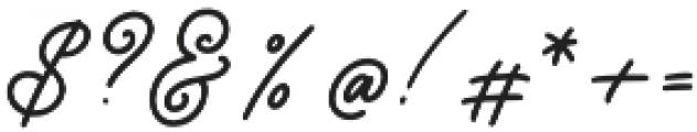 Good_feeling otf (400) Font OTHER CHARS