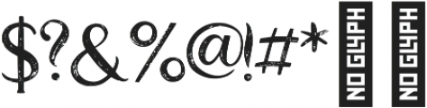 Good_feeling_two otf (400) Font OTHER CHARS