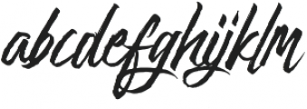 Goodfy Connected Pro otf (400) Font LOWERCASE