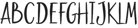 Goodies Alt2 otf (400) Font UPPERCASE