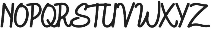 Goodtype Regular otf (400) Font UPPERCASE