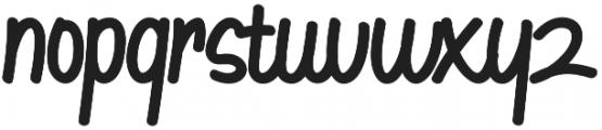 Goodtype Regular otf (400) Font LOWERCASE