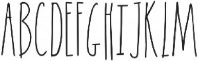 Goof Nugget otf (400) Font UPPERCASE