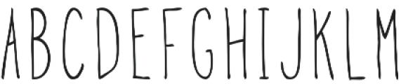 Goon otf (400) Font LOWERCASE