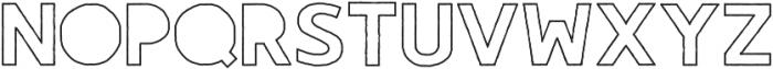 Gorden Alternate otf (400) Font LOWERCASE