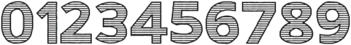 Gorden Line otf (400) Font OTHER CHARS