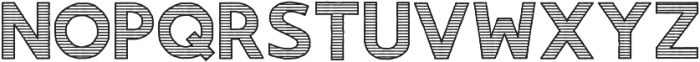Gorden Line otf (400) Font UPPERCASE