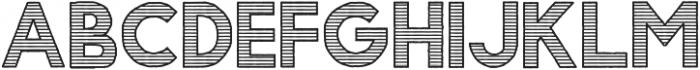 Gorden Line otf (400) Font LOWERCASE