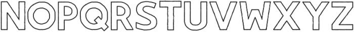 Gorden otf (400) Font LOWERCASE