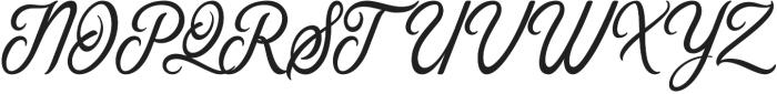 Gorgeous otf (400) Font UPPERCASE