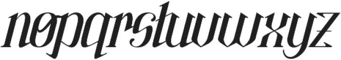 Gorrion ttf (400) Font LOWERCASE