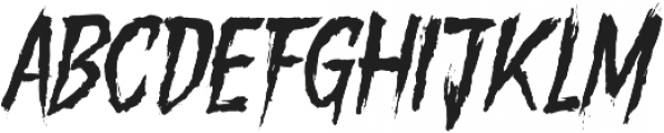 Gory Madness Variant otf (400) Font UPPERCASE