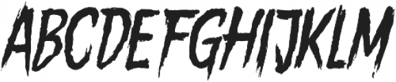 Gory Madness Variant otf (400) Font LOWERCASE