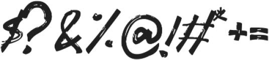 Gothix otf (400) Font OTHER CHARS