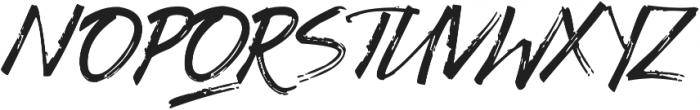 Gothix otf (400) Font UPPERCASE