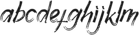 Gothix otf (400) Font LOWERCASE