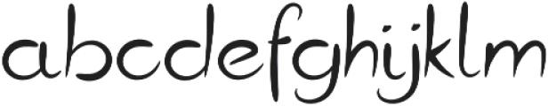 Gottfrid Regular otf (400) Font LOWERCASE