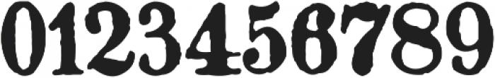 Gotyk nr7 otf (400) Font OTHER CHARS