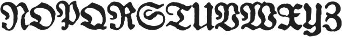 Gotyk nr7 otf (400) Font UPPERCASE