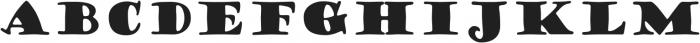 Goudy Stout ttf (400) Font LOWERCASE