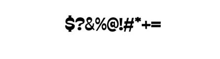 GO BOY.ttf Font OTHER CHARS