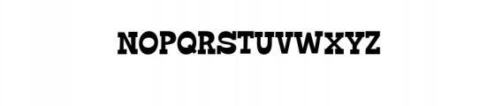 GO BOY.ttf Font UPPERCASE