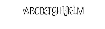 Goodbye Font UPPERCASE
