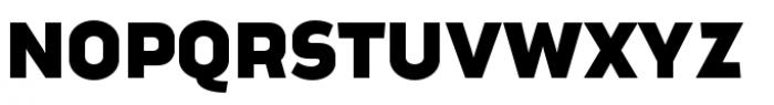 Good News Sans Black Extended Font UPPERCASE