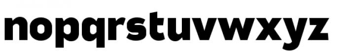 Good News Sans Black Extended Font LOWERCASE