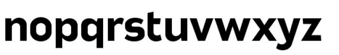Good News Sans Bold Extended Font LOWERCASE