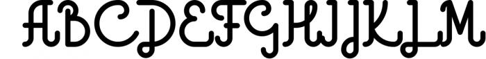 Godlike font + Logo Templates Font UPPERCASE