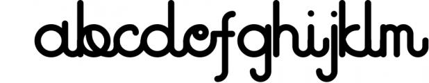 Godlike font + Logo Templates Font LOWERCASE