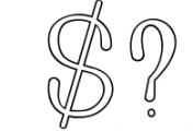 Golden Bridge Font Duo 1 Font OTHER CHARS