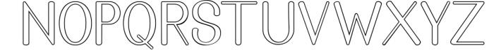Golden Bridge Font Duo 1 Font LOWERCASE