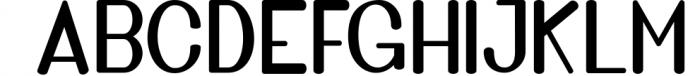 Golden Bridge Font Duo 3 Font UPPERCASE