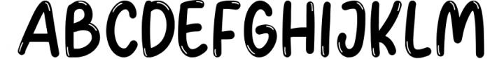 Googlynes Joy & Play Font UPPERCASE