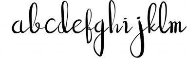 good vibe handwritten script font Font LOWERCASE