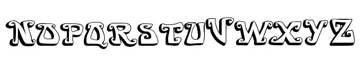 GOIABADA Font UPPERCASE