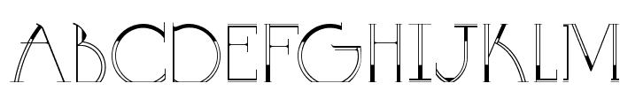 GOLA UNOLE Font UPPERCASE