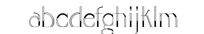 GOLA UNOLE Font LOWERCASE