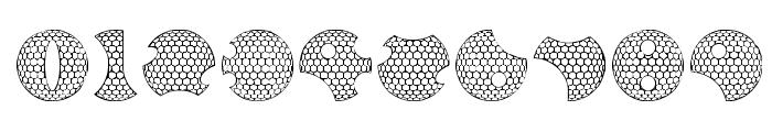 GOLFABET Font OTHER CHARS