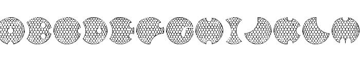 GOLFABET Font UPPERCASE
