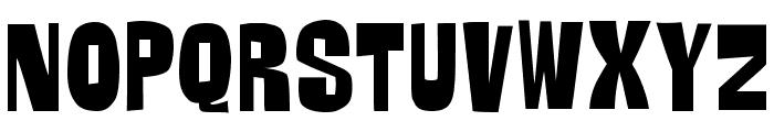 GORG Font UPPERCASE