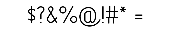 GOSTRUS Type A Font OTHER CHARS