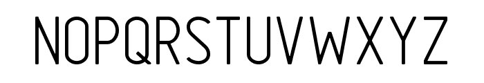 GOSTRUS Type A Font UPPERCASE