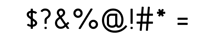 GOSTRUS type B Font OTHER CHARS